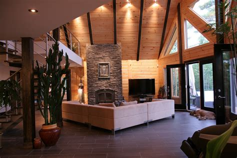 contemporary interior designs for homes log cabin interiors for the most comfortable log cabin at