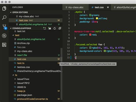 git color colors for git status in file explorer 183 issue 77