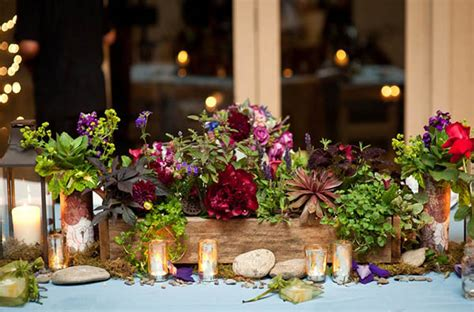 lovely fall wedding centerpieces  lovely