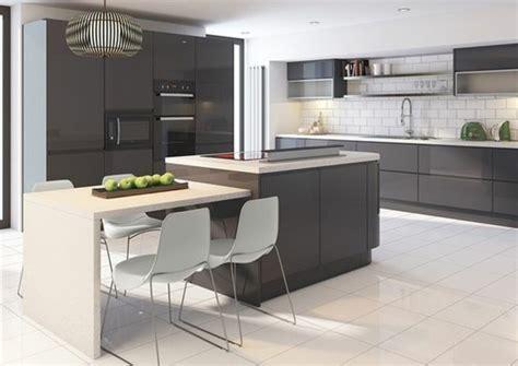 cuisine meubles gris meuble cuisine gris anthracite maison design bahbe com