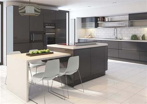 couleur gris perle cuisine stunning cuisine gris perle et anthracite ideas design