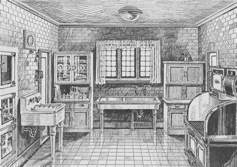 1920s Kitchen Gallery   Kitchen flooring, cabinetry, nooks