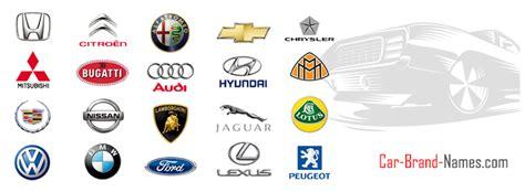 car brands list  car brand names  logos