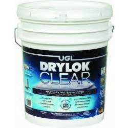 drylok clear masonry waterproofer ebay