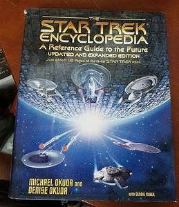 Star Trek  The Star Trek Encyclopedia   A Reference Guide To The Future 9780671034757