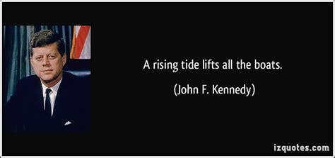 Image result for jfk boat rising tide