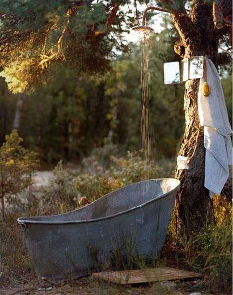 outside tub ideas two men and a little farm outdoor soaking tub part 2