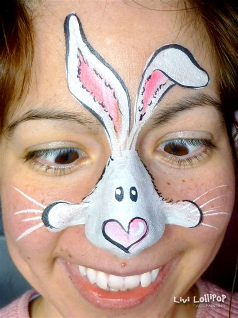 rabbit face painting leicester  london