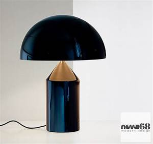 Vico Magistretti Oluce Atollo 233 Modern Table Lamp