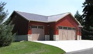 Steel Buildings with Living Quarters Plans
