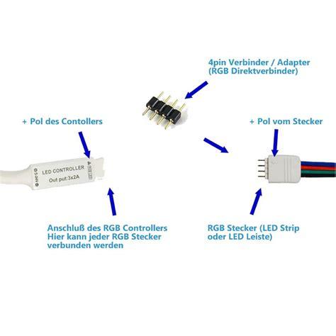 led streifen verbinden litaelek 5x rgb 5050 schnellverbinder led stripe verbinder adapter connector verbindungskabel