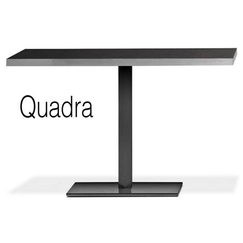 table cuisine pied central table rectangulaire design quadra bois hêtre cuisine
