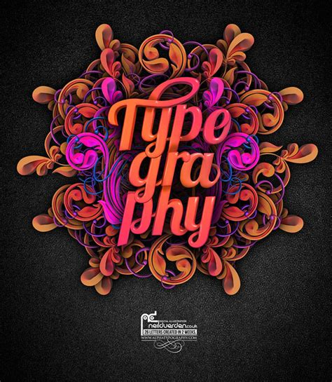 35 creative typography design master pieces for your inspiration