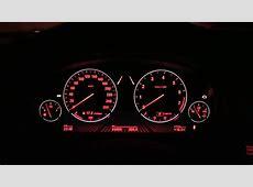BMW 750i dashboard color change head up display HUD