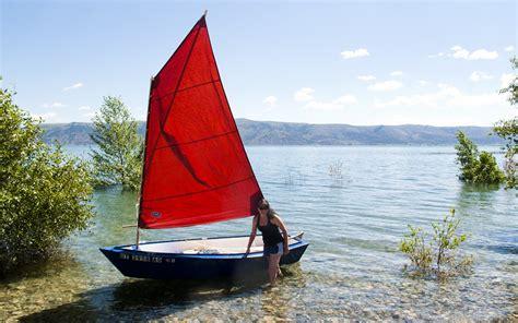 Dory Flat Bottom Boat by Semi Dory 11 Sd11 Flat Bottom Dory Type Dinghy Oars