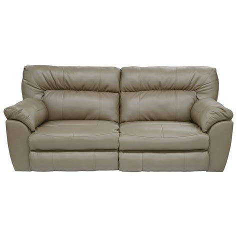 wide sectional couches catnapper nolan power wide reclining sofa with