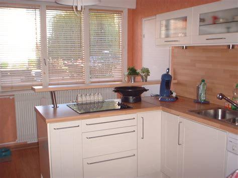 cuisine laqu馥 blanche ikea cuisine ikea blanche et bois photos de conception de maison elrup com