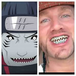 Riff Raff's teeth are like Kisame's from Naruto : funny