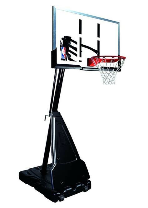 spalding nba portable basketball system   acrylic