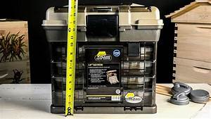 Plano 3700 Size Guide Series Large Fishing Tackle Box