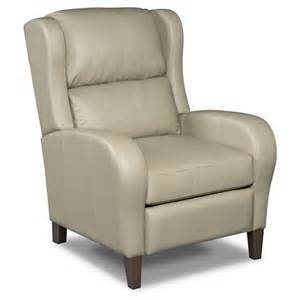 furniture seven seas seating reclining chairs reclining wing chair with high legs