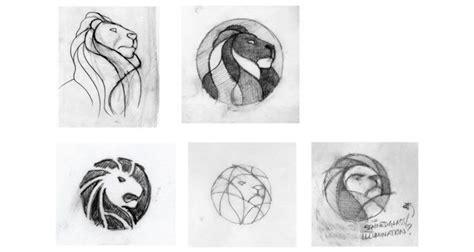 inspiring examples  logo design sketching