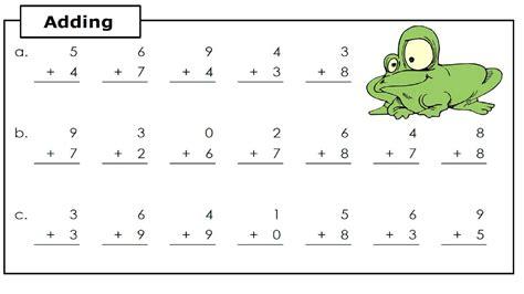 basic addition worksheets addition alistairtheoptimist free worksheet for kids