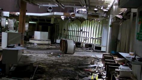abandoned himeyuri park  restaurant area youtube
