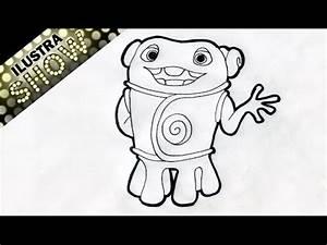 Como dibujar a OH de la pelicula HOME ILUSTRA SHOW YouTube