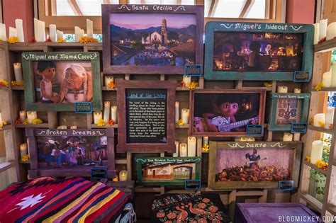 coco exhibit  disney california adventure blog