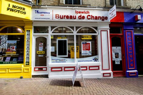 bureau of change no 1 currency exchange ipswich