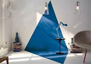 peindre un mur en deux couleurs dynamisez vos espaces With peindre un mur en blanc