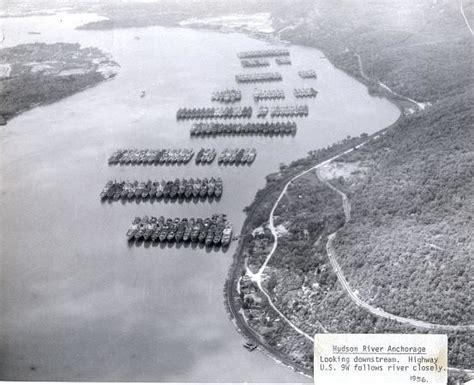 US Navy Mothball Fleet Hudson River