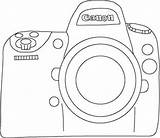 Camera Easy Drawing Canon Template Doodle Nikon Embroidery Tumblr Getdrawings Etsy Paper Photography Sold sketch template
