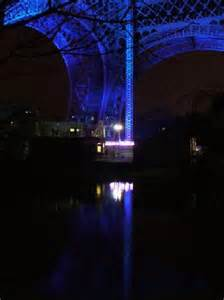 Eiffel Tower at Night Winter