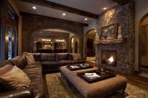 Pottery Barn Style Living Room Ideas by 15 Fotos De Salas Con Paredes En Piedra Ideas De Salas