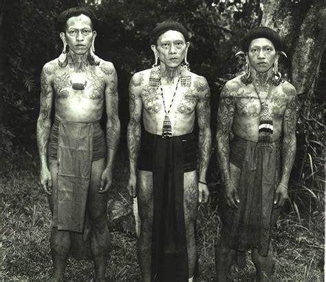 tato dayak tato asli indonesia  terkenal hingga