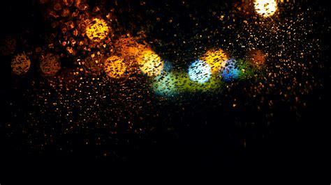 blur bokeh effect rain  hd photography  wallpapers
