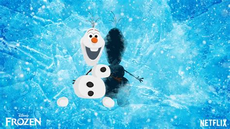 olaf  snowman gif find share  giphy