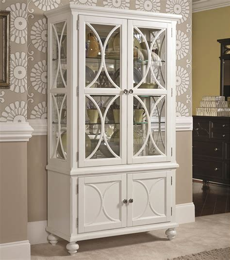 where to put glass cabinets in a kitchen american drew curio china stoney creek 2258