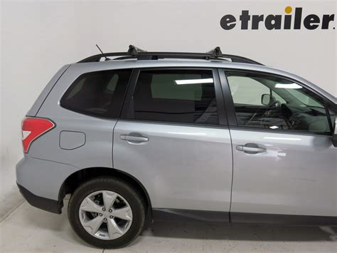 subaru forester roof rack subaru forester yakima railgrab towers for flat and raised