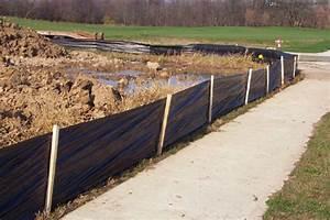 Silt Fence - Volm Companies