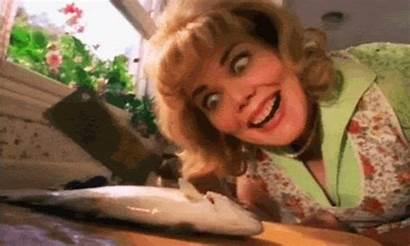Crazy Lady Woman Bush Should Fish Brought