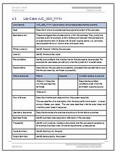 business requirements specification template ms word With new product specification template