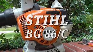 Stihl Bg 86 Blower Parts Diagram