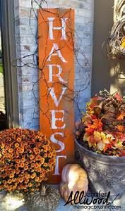 Hometalk HARVEST Barnwood Sign for Fall