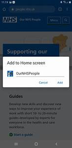 Installation Guide  Android  U2013 Our Nhs People