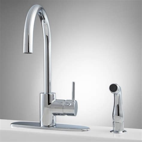 best kitchen sink faucets best kitchen faucet with sidespray 4549