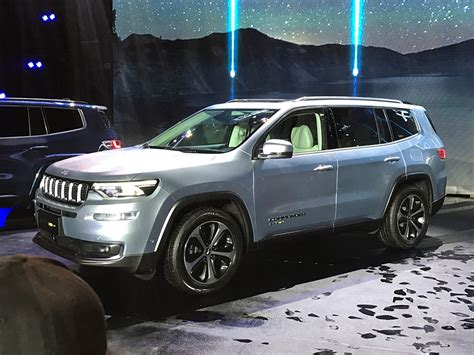 2020 Jeep Commander by Jeep Grand Commander Phev Revealed In China Will Go On