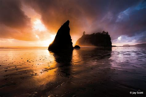 El salvador is riding waves as global. Ruby Beach, Olympic National Park - Outdoor Photographer